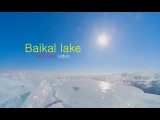 Russia. Siberia. Trip to winter Baikal lake Timelapse