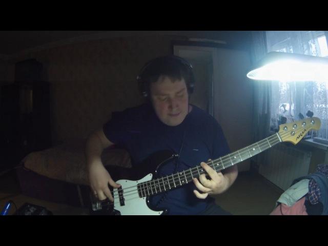 RHCP Easily Biggiz's bass cover show