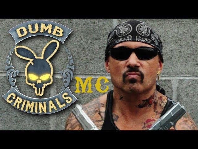 FICTIONAL CHARACTERS, REAL DUMB CRIMES Humor from Australia about MC (Dumb Criminals MC)