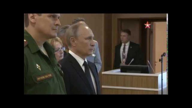 Путин осмотрел в Санкт-Петербурге многопрофильную клинику Военно-медицинской академии.