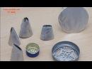 Насадки для крема своими руками Украшение тортов кремом Nozzles for creams Часть 1