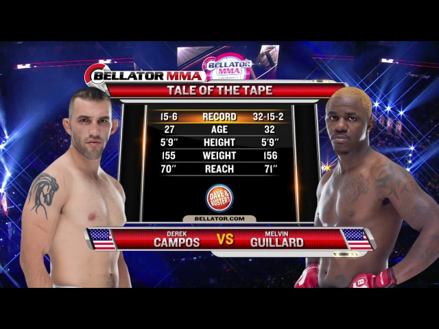 Bellator 149 Derek Campos vs Melvin Guillard FULL FIGHT