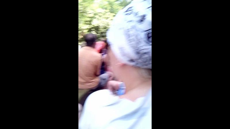 Пшадские водопады/поездка на ЗИЛе