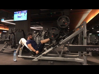 400 Kg. Leg Press | Omer Cilingir