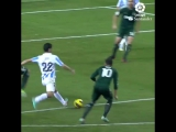 Гол Иско в ворота «Реал Мадрида» в составе «Малаги»