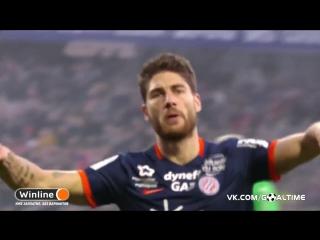 Монпелье - Сент-Этьен 2:1. Обзор матча. Франция. Лига 1 2016/17. 26 тур.