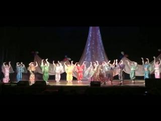 Арабский (Сирийский) танец. Ансамбль танца
