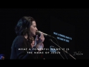 What a Beautiful Name (w⁄ spontaneous) - Amanda Cook ¦ Bethel Music
