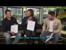 Интервью Дженсена, Миши и Джареда для Warner Bros.