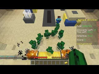 10 НУБОВ КАКТУСОВ ПРОТИВ 1 МАНЬЯКА ( Minecraft Murder Mystery Trolling ) ТРОЛИНГ В МАЙНКРАФТЕ