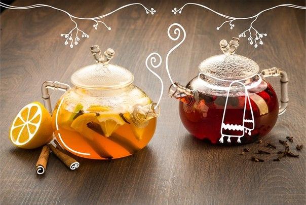 Подача чая и напитков