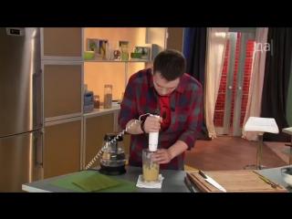 Детский завтрак. Рисовая каша с банановой карамелью.