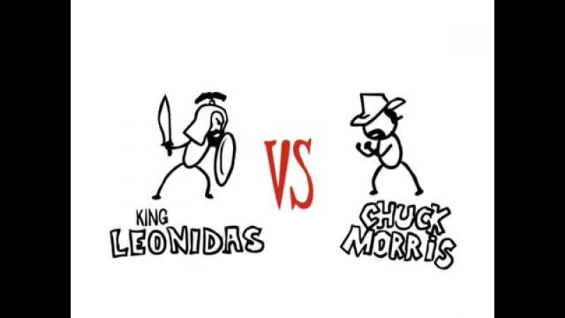 Project Versus - King Leonidas vs Chuck Morris _ Versus