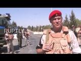 Российские военные передали гуманитарную помощь жителям сирийского города ар-Растан