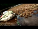 Вылазка из тайги - бурлаки на Вахе