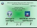 Финальный турнир Первенства МОА Черноземье среди юношей 2005 года рождения - Стыковые матчи - За 9-12 место - 1-ый тайм