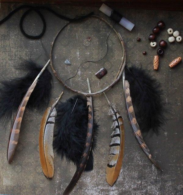 как сделать ловца снов пошаговая инструкция