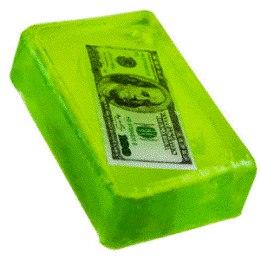 сделать мыло своими руками в домашних условиях, денежное мыло