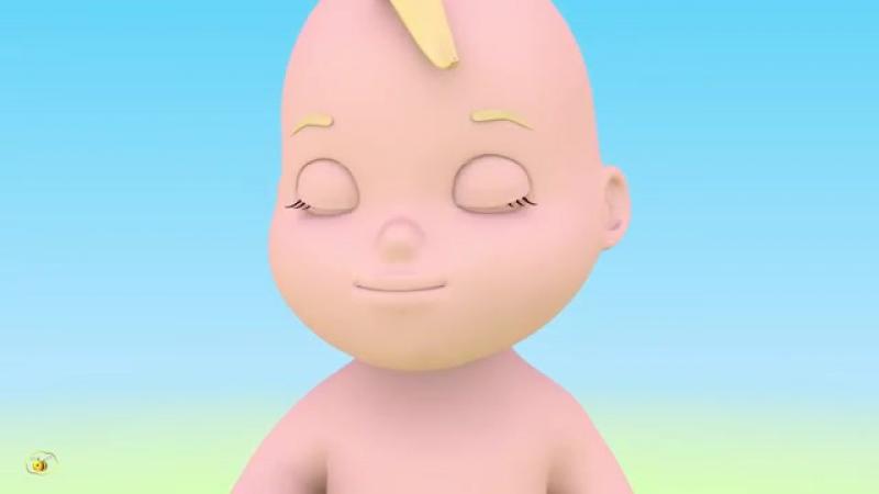 Учим части тела. Учимся с Масиком- лицо. Развивающий мультфильм от 12 до 36 месяцев-[save4.net]