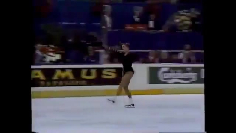Katarina Witt 1987 Worlds Long Program 1