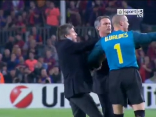 On this day, 7 years ago Mourinho and Inter eliminate Barcelona from the Champions league semi final