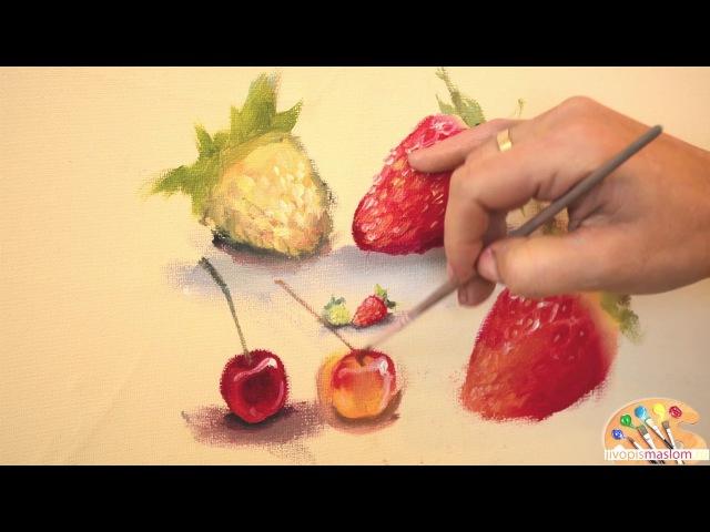 Садовые ягоды: вишня и черешня, их отличие. Ольга Базанова