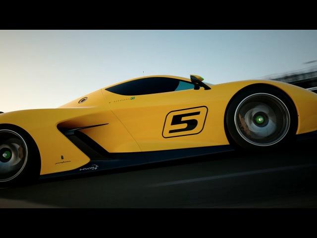 Fittipaldi EF7 Vision Gran Turismo by Pininfarina Unveiled