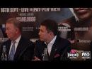 SUPREMACY! SAUL CANELO ALVAREZ VS GENNADY GOLOVKIN LONDON PRESS CONFERENCE HIGHLIGHTS