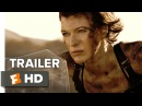 Resident Evil The Final Chapter Official Trailer 2 2017 - Milla Jovovich Movie