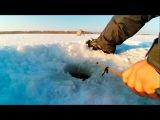 Рыбалка на карася. Мороз -25 градусов.