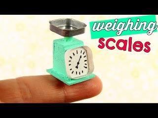 DIY Miniature Weighing Scales