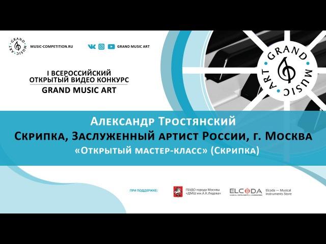 Александр Тростянский «Открытый мастер-класс» (Скрипка)