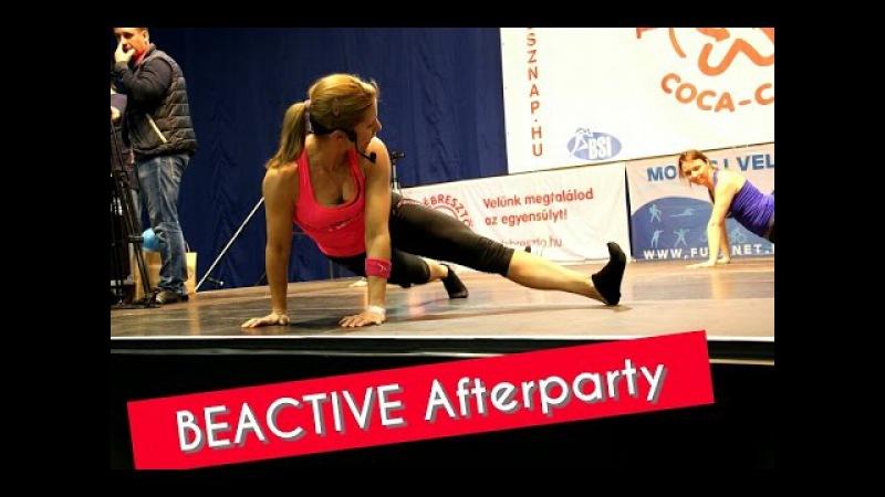 BEACTIVE Afterparty - 9. Coca-Cola Testébresztő Fitnesznap