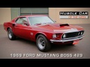 Muscle Car Of The Week Episode #123:  1969 Ford Mustang BOSS 429 Video V8TV