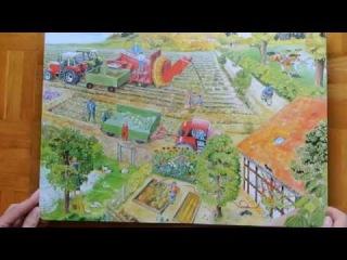 Das wimmelbuch vom Bauernhof - На ферме