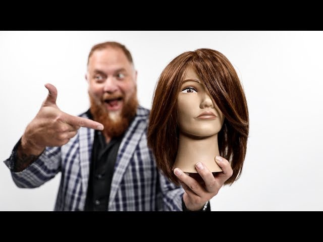 Layered Haircut Tutorial for THICK Hair Featuring Ryan Teal - MATT BECK VLOG 114
