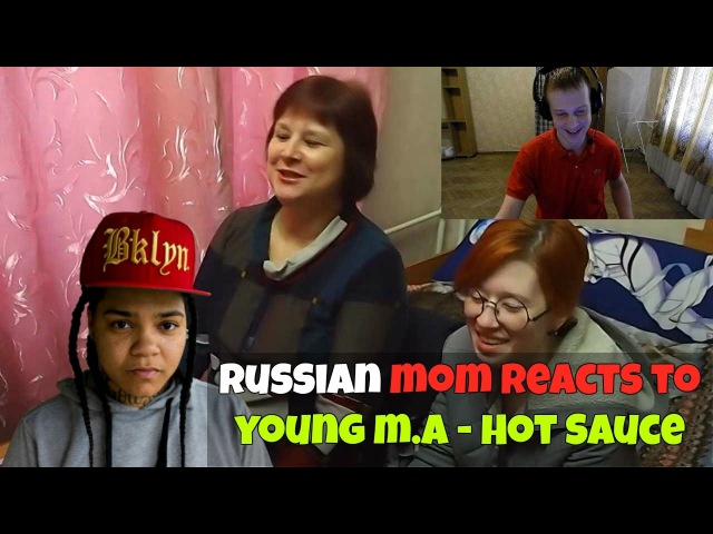 RUSSIAN MOM REACTS to Young M.A - Hot Sauce (Official Video) REACTION