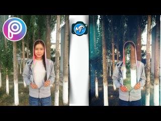 Түссіз адам - Қазақша Фотошоп Picsart. Урок фотошоп Picsart. Picsart tutorial editor, edit