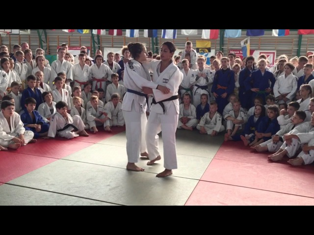Gerbi | Koshi-guruma into Uchi-mata