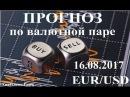 Прогноз по евро доллар (EUR/USD) на 16.08.2017