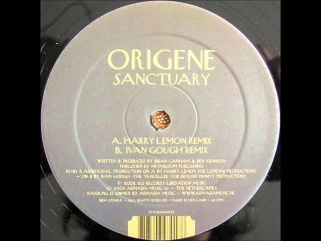 ORIGENE Sanctuary Harry Lemon remix