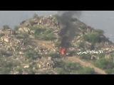 وحدة القناصة تقتل جندي سعودي وتحرق آليته في موقع الفريضة السعودي بجيزان