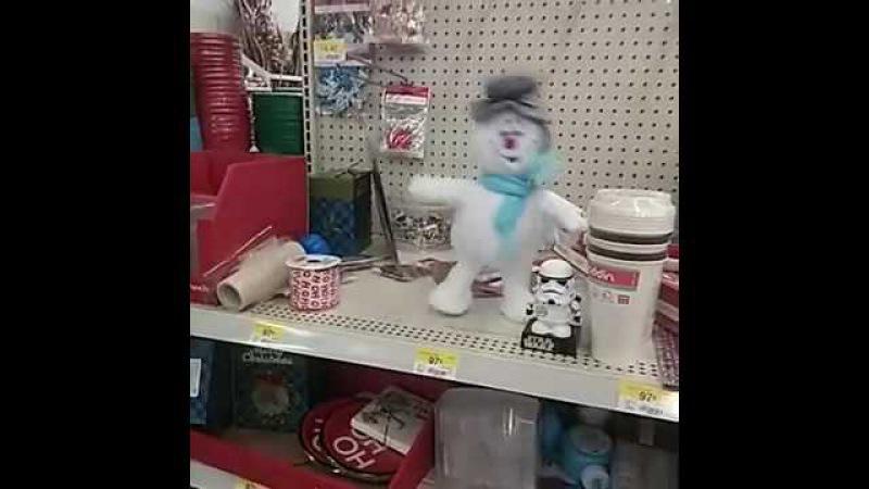 Snowman suicide