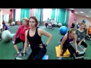Buttocks and press in home workouts Anna Kurkurina
