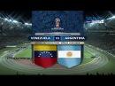 Venezuela vs Argentina (2-2) - PARTIDO COMPLETO - Eliminatorias Russia 2018 - FULL HD