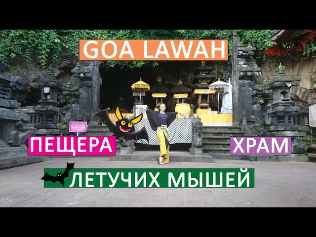 Храм и пещера Goa Lawah (пещера летучих мышей), Паданг-Бай | Движение - Жизнь №5
