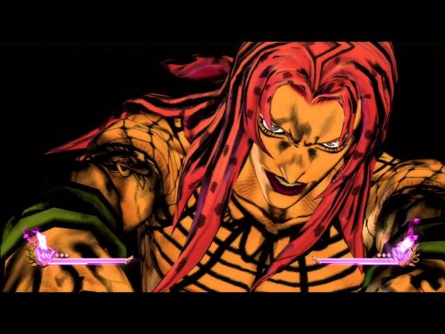 JoJo`s Bizarre Adventure All Star Battle All HHA/GHA and Throws:Diabolo