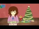 Sans X Frisk Animation - All I want for Christmas