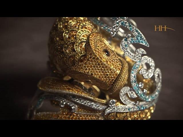 Van Cleef Arpels Carpe Koi watch bracelet