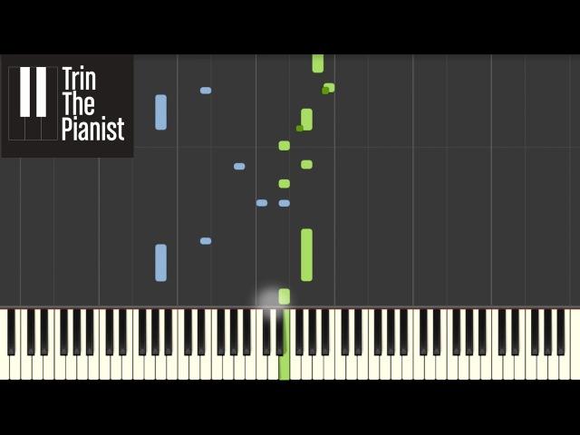 Naruto - Sadness and sorrow - Piano tutorial [Synthesia]